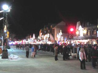 バンフ・クリスマスパレード5
